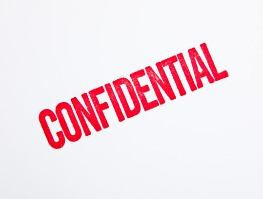 Confidential Blog